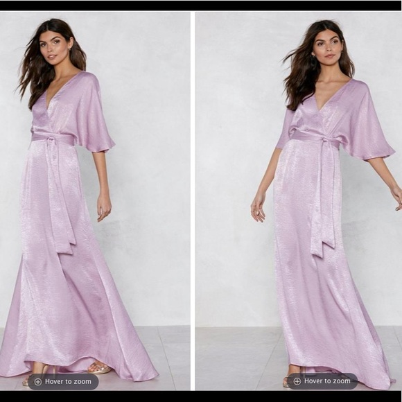 e3e18674 Nasty Gal Dresses | Gorge Lavender Backless Dress | Poshmark